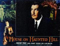 House on Haunted Hill - 11 x 14 Movie Poster - Style A