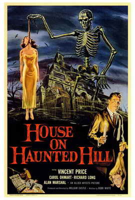 House on Haunted Hill - 27 x 40 Movie Poster
