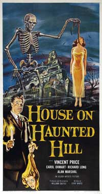 House on Haunted Hill - 41 x 81 3 Sheet Movie Poster - Style A