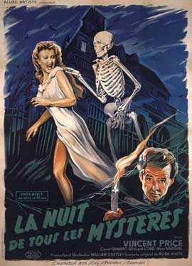 House on Haunted Hill - 11 x 17 Movie Poster - French Style A