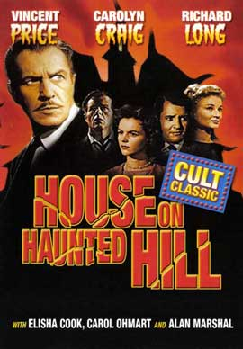 House on Haunted Hill - 11 x 17 Movie Poster - Style D