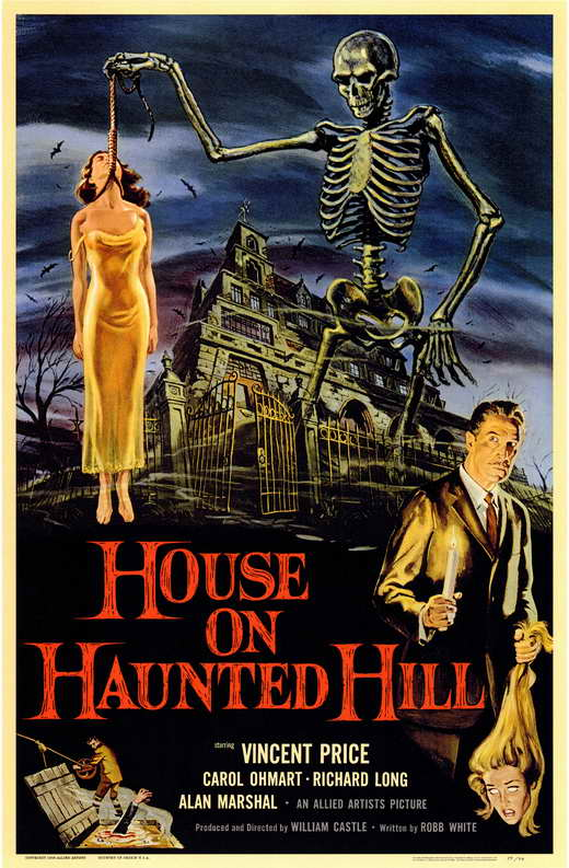 Haunted Hill Movie House on Haunted Hill