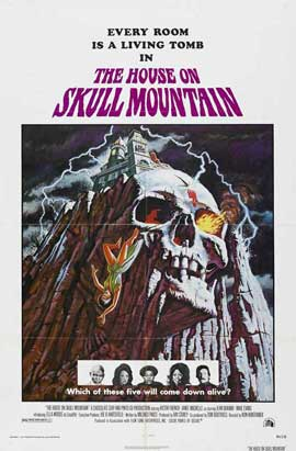 The House on Skull Mountain - 11 x 17 Movie Poster - Style A