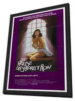 The House on Sorority Row - 11 x 17 Movie Poster - Style A - in Deluxe Wood Frame