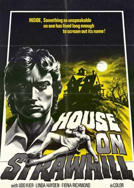 The House on Straw Hill - 11 x 17 Movie Poster - Style A