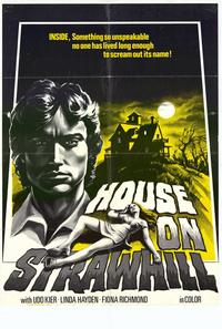 The House on Straw Hill - 43 x 62 Movie Poster - Bus Shelter Style A