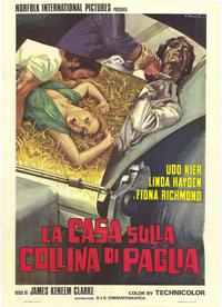 The House on Straw Hill - 11 x 17 Movie Poster - Italian Style A