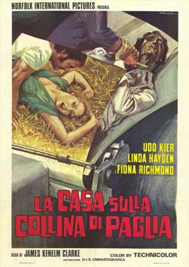 The House on Straw Hill - 27 x 40 Movie Poster - Italian Style A