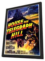 House on Telegraph Hill - 11 x 17 Movie Poster - Style B - in Deluxe Wood Frame
