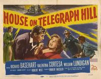 House on Telegraph Hill - 27 x 40 Movie Poster - UK Style C