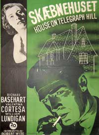 House on Telegraph Hill - 11 x 17 Movie Poster - Danish Style A