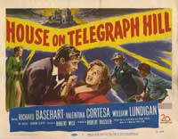 House on Telegraph Hill - 30 x 40 Movie Poster UK - Style A