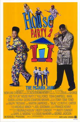 House Party 2: The Pajama Jam - 27 x 40 Movie Poster - Style A