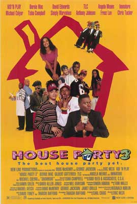House Party 3 - 27 x 40 Movie Poster - Style A