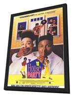 House Party - 11 x 17 Movie Poster - Style A - in Deluxe Wood Frame