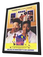 House Party - 27 x 40 Movie Poster - Style A - in Deluxe Wood Frame