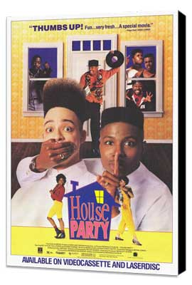 House Party - 27 x 40 Movie Poster - Style A - Museum Wrapped Canvas