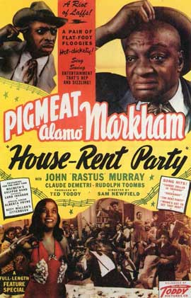 House-Rent Party - 11 x 17 Movie Poster - Style A