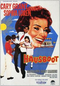 Houseboat - 11 x 17 Movie Poster - German Style A