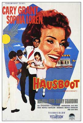 Houseboat - 27 x 40 Movie Poster - German Style A