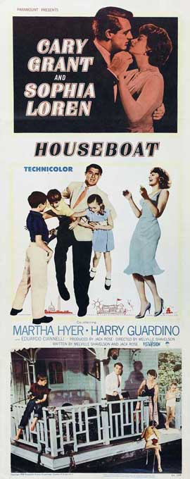 Houseboat - 14 x 36 Movie Poster - Insert Style A