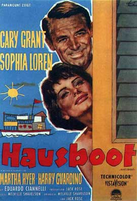Houseboat - 11 x 17 Movie Poster - German Style B
