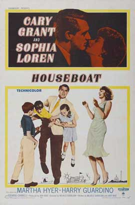 Houseboat - 11 x 17 Movie Poster - Style A