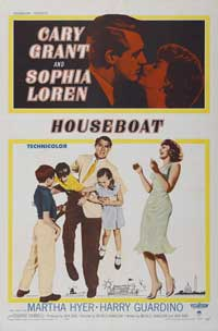Houseboat - 27 x 40 Movie Poster - Style A