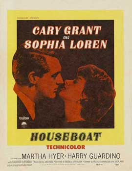 Houseboat - 27 x 40 Movie Poster - Style B