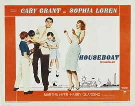 Houseboat - 11 x 17 Movie Poster - Style C