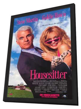 Housesitter - 11 x 17 Movie Poster - Style A - in Deluxe Wood Frame