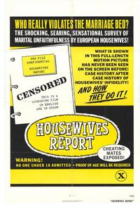 Housewives Report - 11 x 17 Movie Poster - Style A