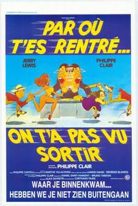 How Did You Get In? We Didn't See You Leave - 27 x 40 Movie Poster - Belgian Style A