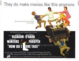 How Do I Love Thee - 11 x 14 Movie Poster - Style A