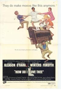 How Do I Love Thee - 27 x 40 Movie Poster - Style A
