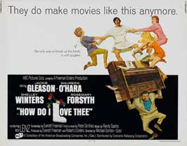How Do I Love Thee - 22 x 28 Movie Poster - Half Sheet Style A