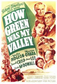 How Green Was My Valley - 27 x 40 Movie Poster - Style A