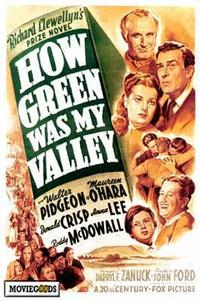 How Green Was My Valley - 43 x 62 Movie Poster - Bus Shelter Style A