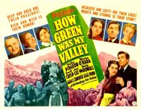 How Green Was My Valley - 11 x 14 Movie Poster - Style A