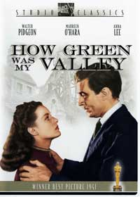 How Green Was My Valley - 11 x 17 Movie Poster - Style D