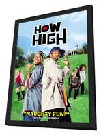 How High - 27 x 40 Movie Poster - Style A - in Deluxe Wood Frame