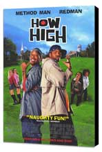 How High - 27 x 40 Movie Poster - Style B - Museum Wrapped Canvas