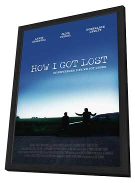 How I Got Lost - 11 x 17 Movie Poster - Style A - in Deluxe Wood Frame