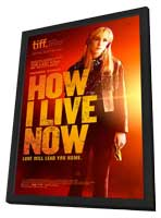 How I Live Now - 27 x 40 Movie Poster - Canadian Style A - in Deluxe Wood Frame