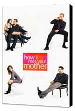 How I Met Your Mother - 11 x 17 TV Poster - Style A - Museum Wrapped Canvas