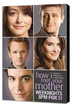 How I Met Your Mother - 11 x 17 TV Poster - Style B - Museum Wrapped Canvas
