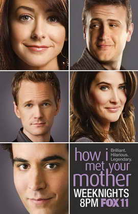 How I Met Your Mother - 11 x 17 TV Poster - Style B