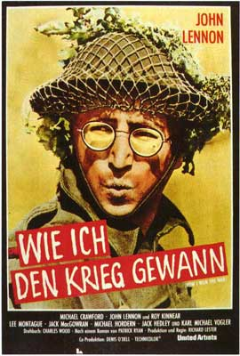 How I Won the War - 27 x 40 Movie Poster - German Style A