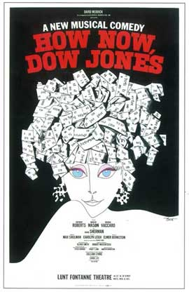 How Now, Dow Jones (Broadway) - 14 x 22 Poster - Style A