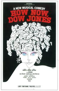 How Now, Dow Jones (Broadway) - 11 x 17 Poster - Style A